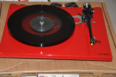 Rega RP6 – out of the box